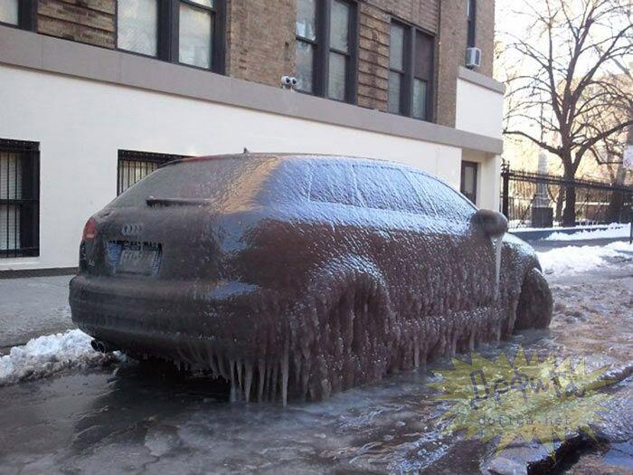 نمایش پست :ماشین یخ زده دیده بودی!!