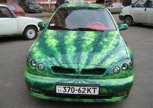 نمایش پست :عکس های جالب از ماشین هندوانه ای