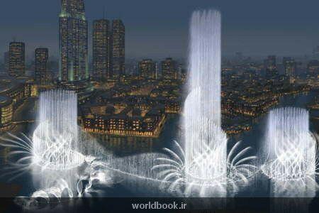 عکس های جالب از آبشاری در دبی