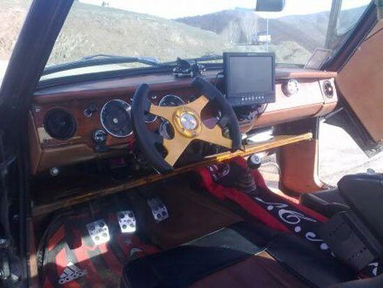 عکس هایی دیدنی از یک راننده پیکان خلاق ایرانی - www.parsnaz.ir
