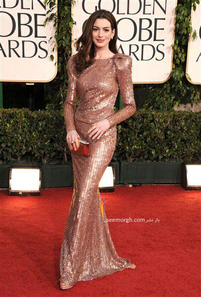 تصاویر مدل لباس بازیگران هالیوود در مراسم گلدان کلاب در سال 2011