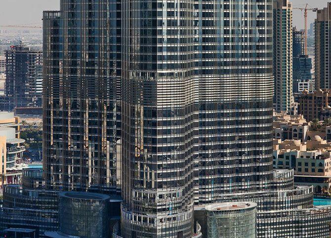 بزرگ ترین ساختمان شگفت انگیز دبی