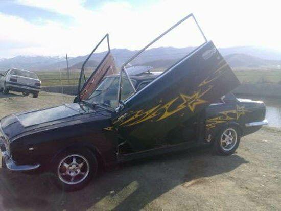 اسپرت ترین ماشین پیکان در ایران + عکس