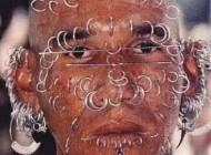 عکس مرد کوبایی با 300 تا سوراخ در صورت