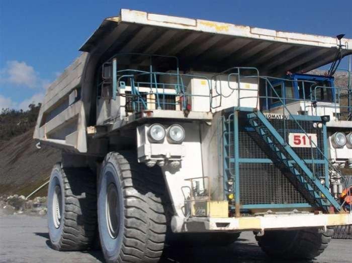 تصاویری از غول پیکرترین کامیون ها
