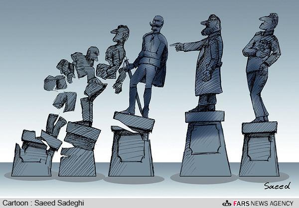 مصر به روایت کاریکاتور + عکس