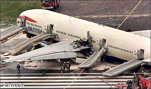 8 علت وقوع سوانح هوایی در دنیا