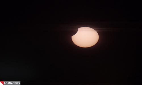 تصاویر دیدنی از نادر ترین خورشید گرفتگی پس از نیم قرن