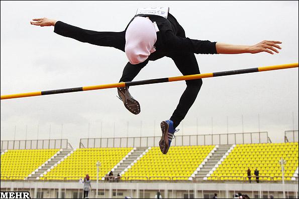 مسابقات دومیدانی بانوان ایران+ عکس