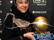دختری شایسته که حجاب را به لیگ برتر انگلیس آورد + عکس