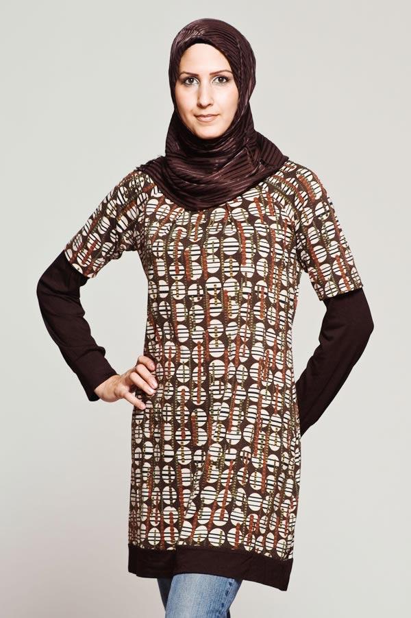 مدل های لباس زنانه اسلامی 96 - 2017