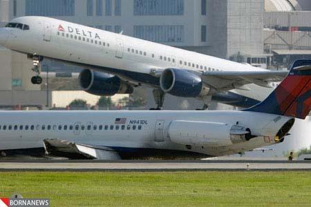 حادثه در بزرگترین شرکت هواپیمایی جهان + عکس