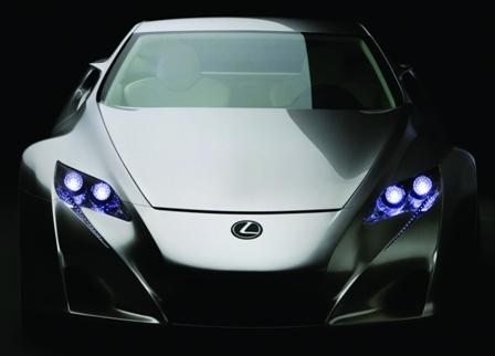 عکسهای ماشین لکسوس lexus LFA 2011