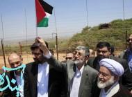 حركت جالب حداد در مرز اسرائیل!!