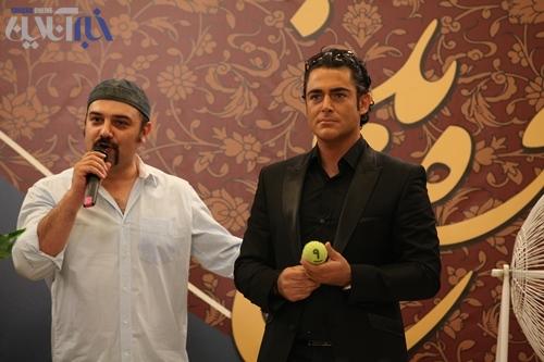 شوخی مهران مدیری با محمد رضا گلزار به همراه عکس