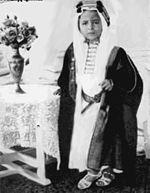نمایش پست :عکسهایی از پادشاه جوان عراق