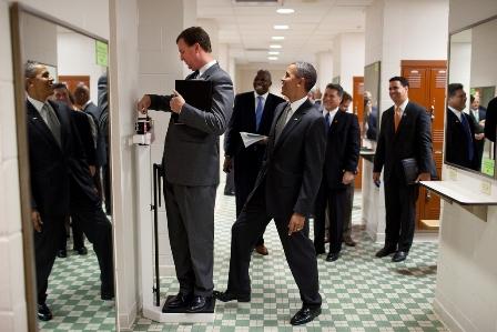 نمایش پست :شوخی اوباما با همکارش ( عکس)