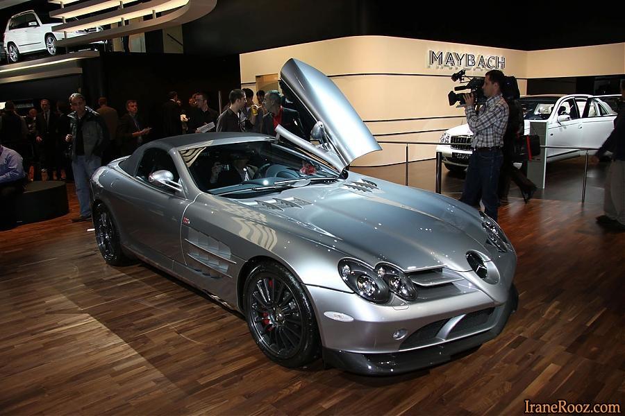 تصاویر بی نظیرترین خودروها در نمایشگاه 2010 پاریس