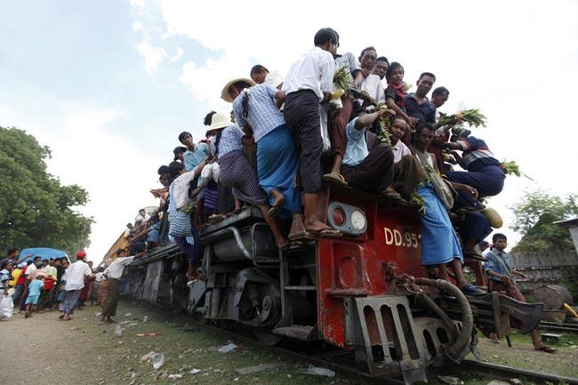 عکس های جالب از حمل و نقل های عجیب و غریب