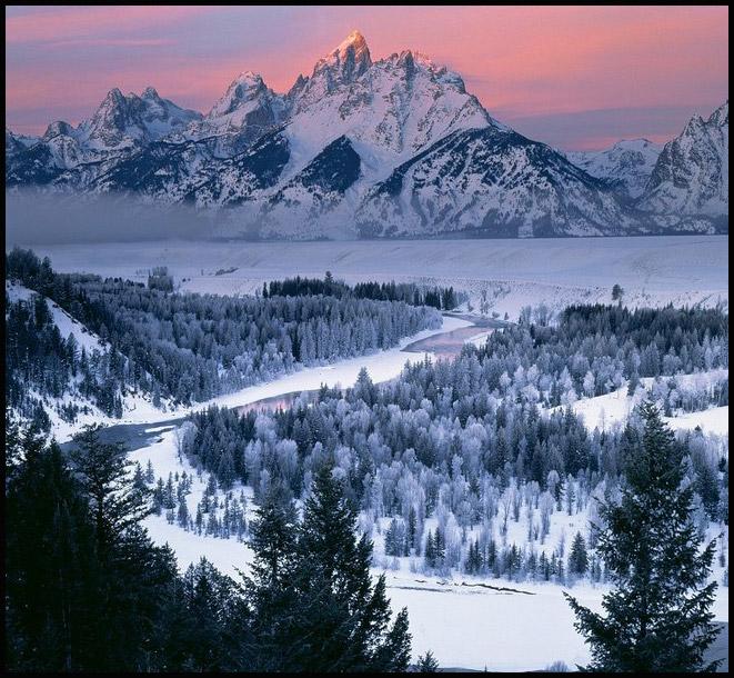 ع های طبیعت زمستانی اروپا