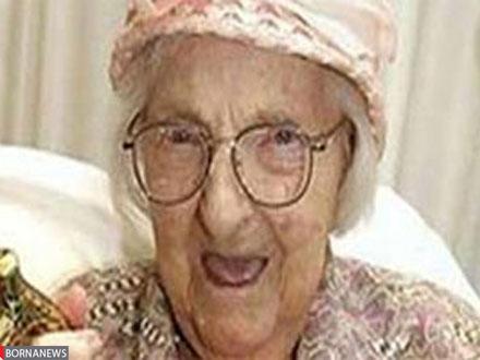 نمایش پست :پشتکار باور نکردنی پیر زن 100 ساله امریکایی +عکس