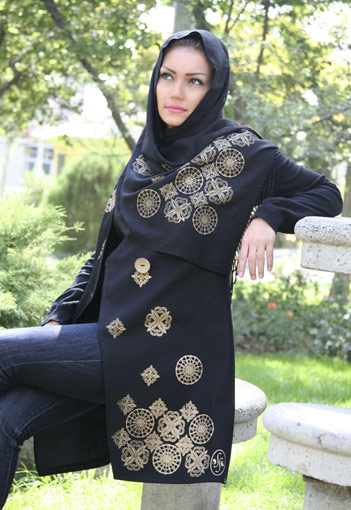 مانتو و شال ایرانی -سری جدید
