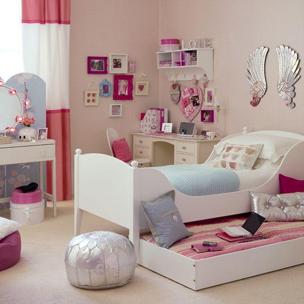 جدیدترین مدل دکوراسیون اتاق خواب دخترانه  - http://tarrahi-khaneh.rozblog.com/