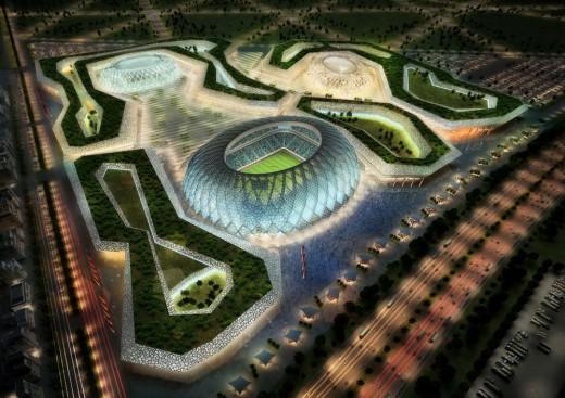عکس های استادیوم های قطر برای میزبانی جام جهانی سال 2022
