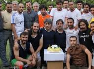 بازیگران سینما و تلویزیون در تیم فوتبال + عکس