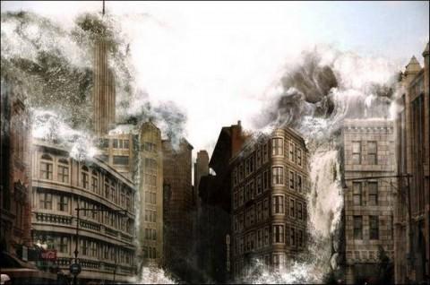 عکس هایی دیدنی از پایان دنیا در سال 2012