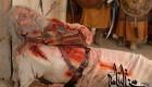 صحنه کشته شدن مختار + عکس!!