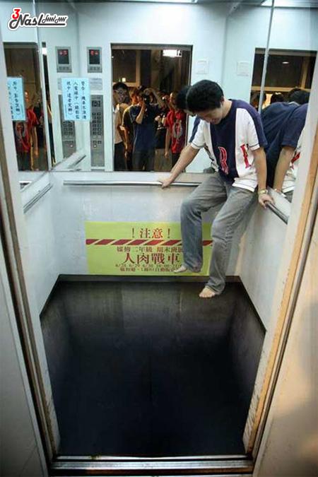 ترسناک ترین آسانسور جهان + عکس!!