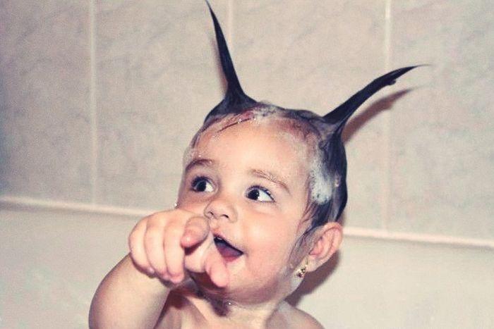 تصاویر بامزه و خنده دار از کودکان (2)
