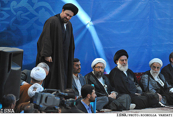 سلام و احوالپرسی های سران جمهوری اسلامی