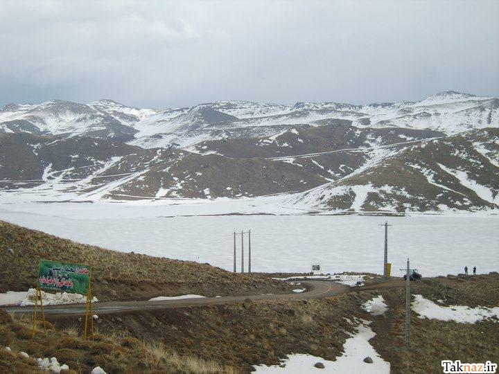 پیشنهاد گردشگری برای آخر هفته :دریاچه نئور +تصاویر