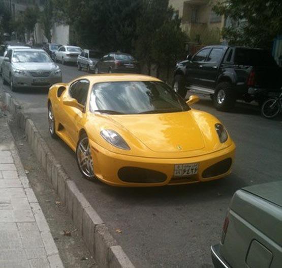 عکس های مدرن ترین ماشین ها در تهران