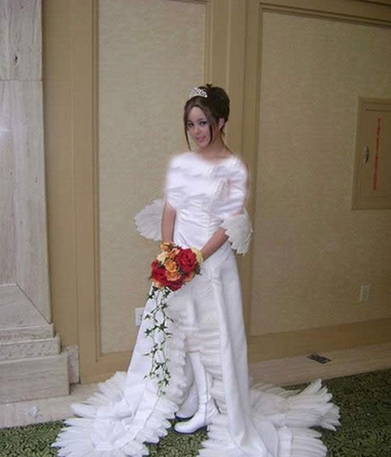 مدلهای زیبا و عجیب لباس عروس