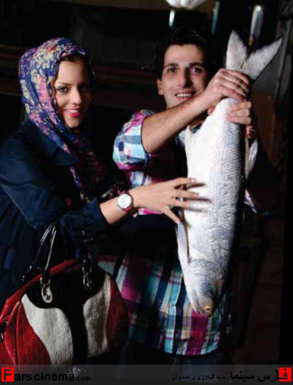 تصاویر جدید از حمید گودرزی و همسرش