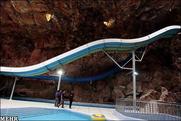 افتتاح بزرگترین پارک آبی خاورمیانه در مشهد + (تصاویر)