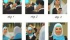ترفندی فوق العاده جالب برای پوشیدن روسری..تصاویر
