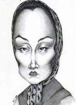 نتیجه تصویری برای کاریکاتور زن های هنرمند