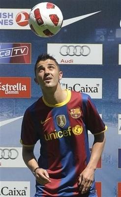 بیوگرافی دیوید ویا..عکس +(فوتبالیست)