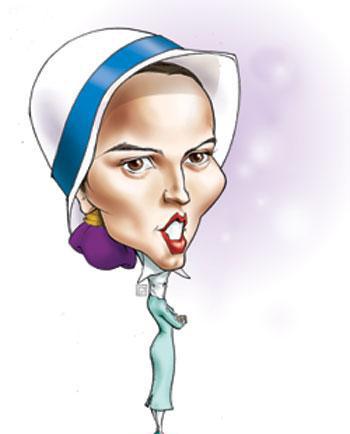 کاریکاتور خنده دار از بازیگران سینما و تلویزیون ایران