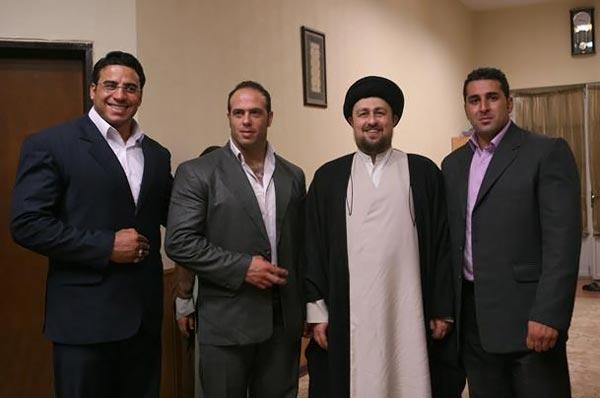 داداشی در کنار سید حسن خمینی..(عکس)
