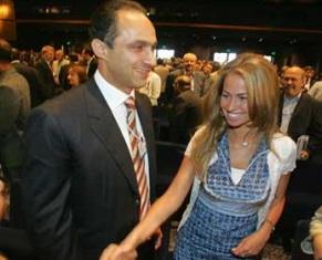 فیلم مستهجن پسر مبارك و دوست دخترش لو رفت..(عکس)
