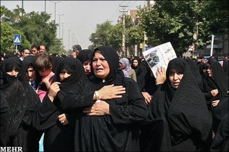 عکس هایی از مراسم خاکسپاری روح الله داداشی..!