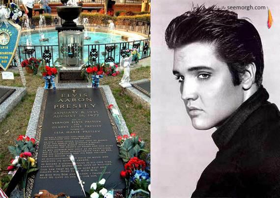 سنگ قبر هنرمندان و بازیگران هالیوود..(گزارش تصویری)