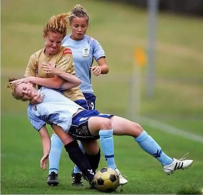 سوژه های بسیار خنده دار ورزشی : تصاویر