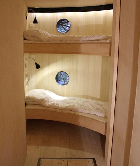 اتاق خوابی شبیه لانه پرنده..(عکس)