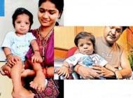 پسر بچه هندی با ۳۴ انگشت!!+ عکس